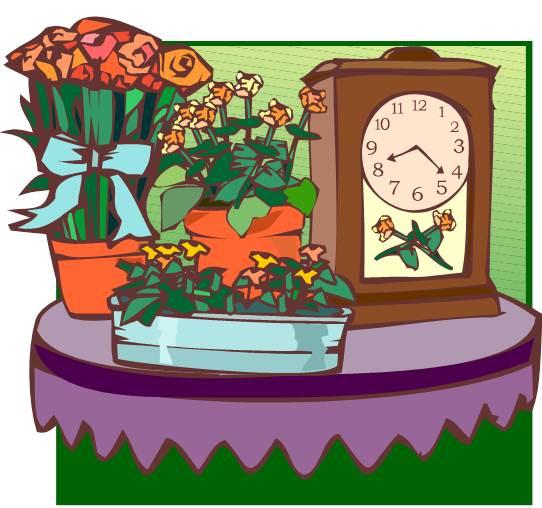 Potted Plants on Desk