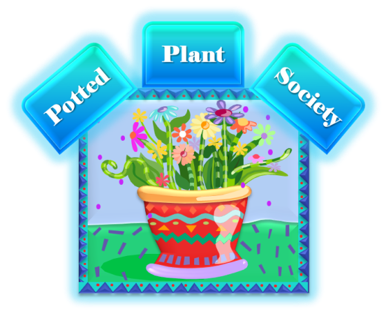 Potted Plant Society Logo